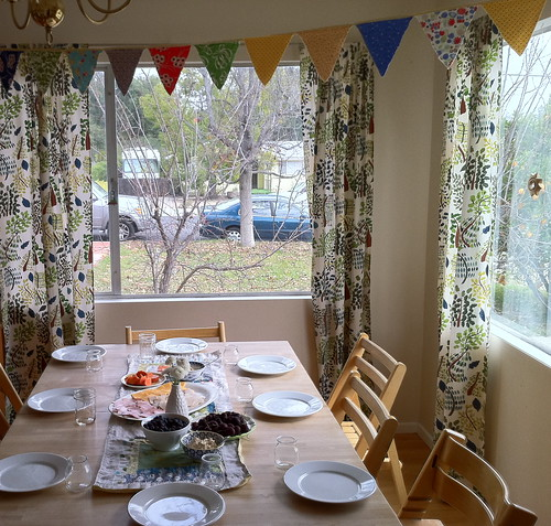 table for the kid party
