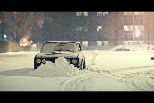 snowplow by Mike Burroughs