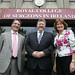 Mr Paul Moriarty, Dr James Reilly (TD) and Ms Patricia Logan