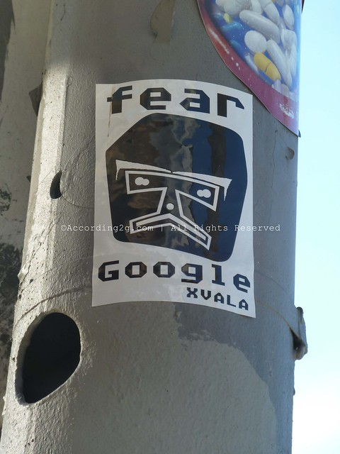 Fear Google New York & Los Angeles according2g
