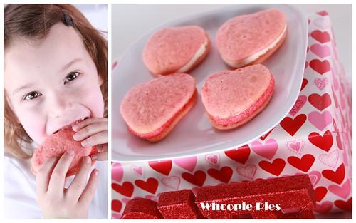 Whoopie Pie Valentines Day collage