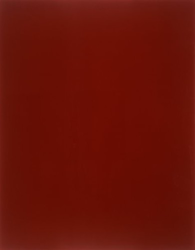 Blood Red Mirror by Gerhard Richter