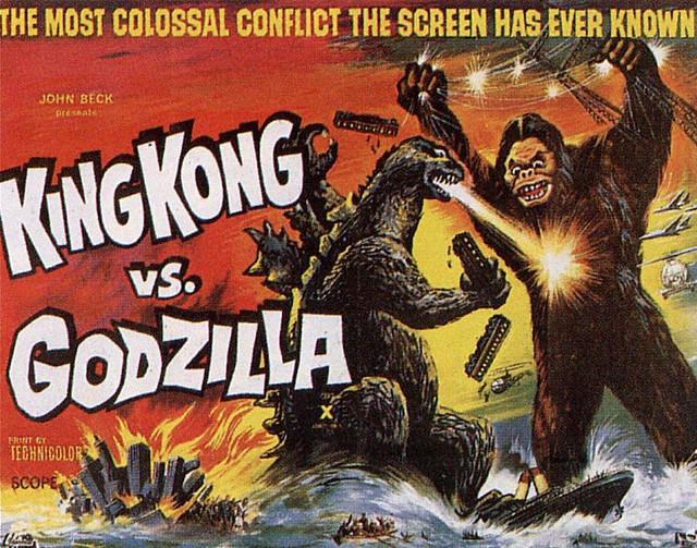 King Kong vs Godzilla, (1963) 8