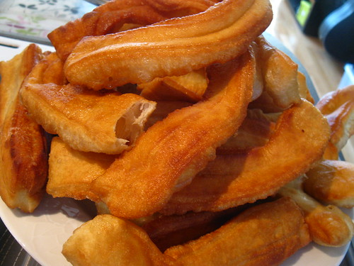油条 Chinese Crullers you char kway