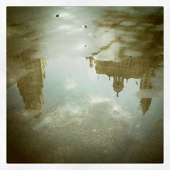 Chicago architecture puddles