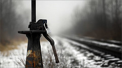 ....another dilemma ........... (Emil Motei) Tags: winter train closed dof bokeh rails dilemma 2011 1on1bokehdofphotooftheweek 1on1bokehdofphotooftheweekfebruary2011