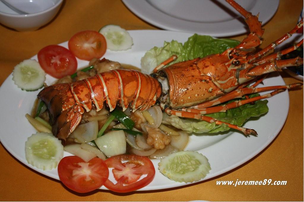 Orkid Ria Seafood Restaurant @ Langkawi - Ginger & Spring Onion Lobster