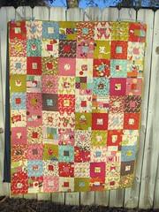 Wonderland quilt complete