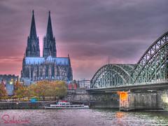 Köln in HDR (SabrinaM.) Tags: germany deutschland dom cologne köln colonia rein hdr germania impressedbeauty sabrinamazzocca
