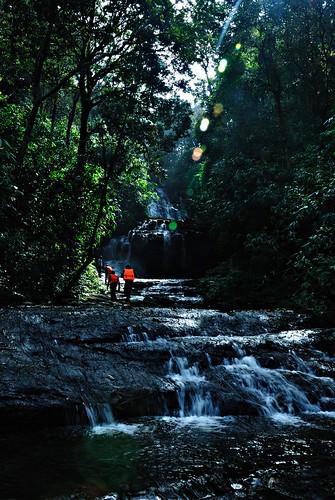 Trekking Along the Waterfalls in Gavi Forests, Kerala.