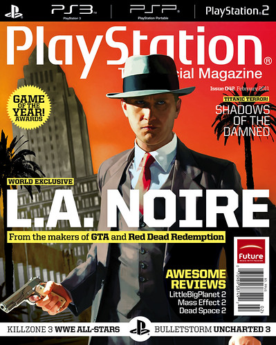 L.A. Noire PlayStation The Official Magazine