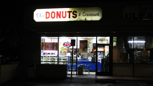 sk's donuts and croissant