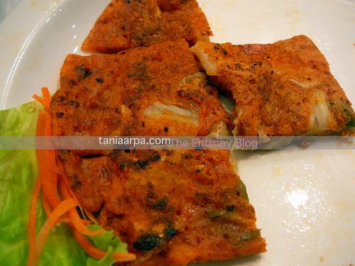 Kogi - kimchi pancake