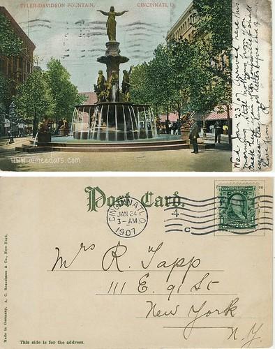 Tyler-Davidson Fountain (Cincinnati, OH)
