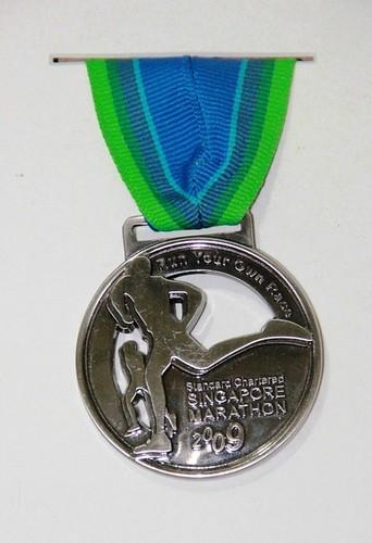 Standard Chartered Singapore Marathon Medal