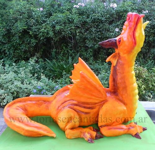 Mega Dragon Cake / Torta de Dragón Gigante