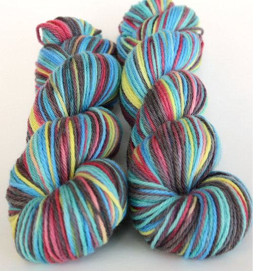 ~Electric Slide~ on Royal Merino Worsted Yarn
