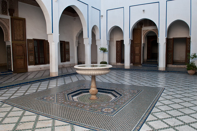 Marrakesh, Bahia Palace