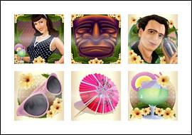 free Tiki Lounge slot game symbols