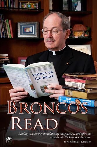 Broncos Read - Fr. Michael Engh, SCU President