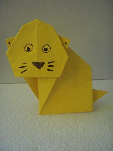 Origami #17: Kitty