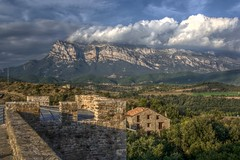 Ainsa and the Pyrenees (pbr42) Tags: mountains architecture spain aragon ainsa hdr pyrenees qtpfsgui