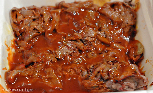 Barbeque Beef at Ted Cook's 19th Hole BBQ ~ Minneapolis, MN