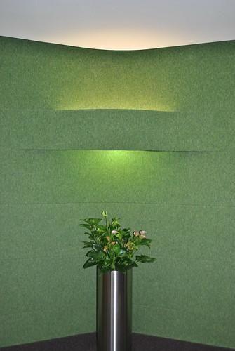 Оригинальная подсветка растений в Яндексе