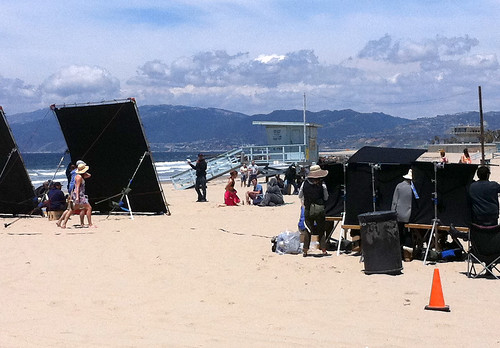 "Elijah Wood Hits Venice Beach with ""Wilfred"""