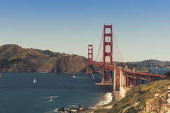 The West Coast (Kevin VanEmburgh Photography) Tags: adventure ca california kevinvanemburghphotography sanfrancisco sf travel westcoast bridge goldengate ocean sea mountains west colorgrading