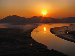 Boat-Sunset-Suncheon Bay-South korea (mikemellinger) Tags: sunset nature water beauty landscape boat scenery ripples southkorea suncheon jeollanamdo suncheonbay