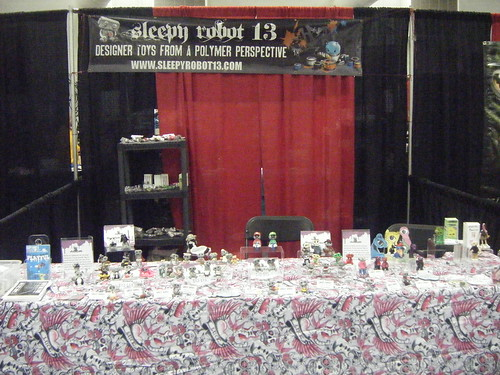 Sleepy Robot 13 booth Designer Con 2010