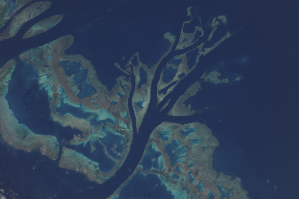 Incredible Photos from Space: Part of the Great Barrier Reef