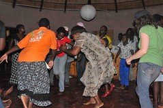 Dancing at gifting