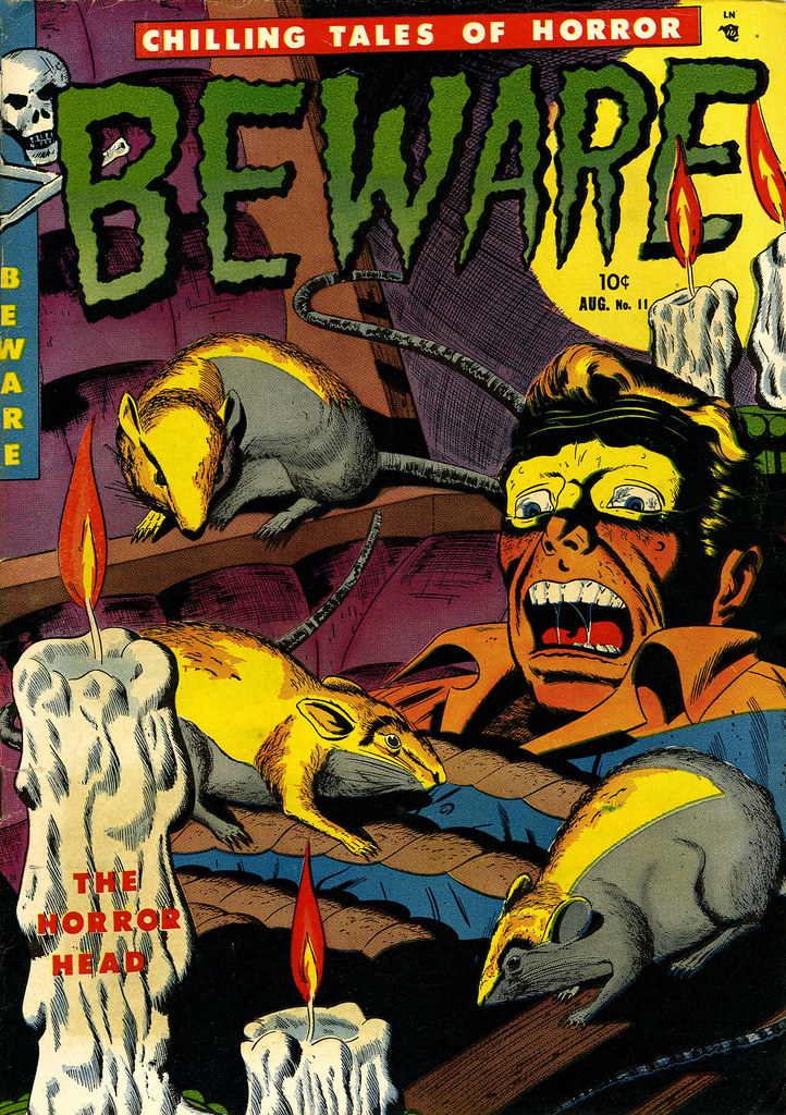 Beware #11 (Youthful Magazines, 1952)