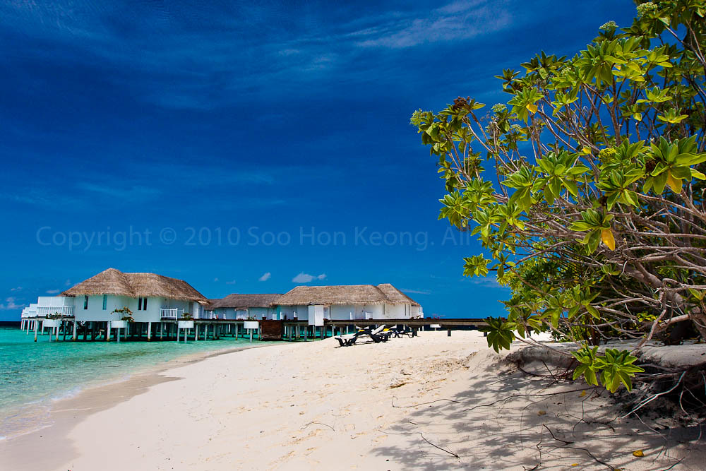 Beach and Sea @ Centara Grand Island Resort & Spa Maldives