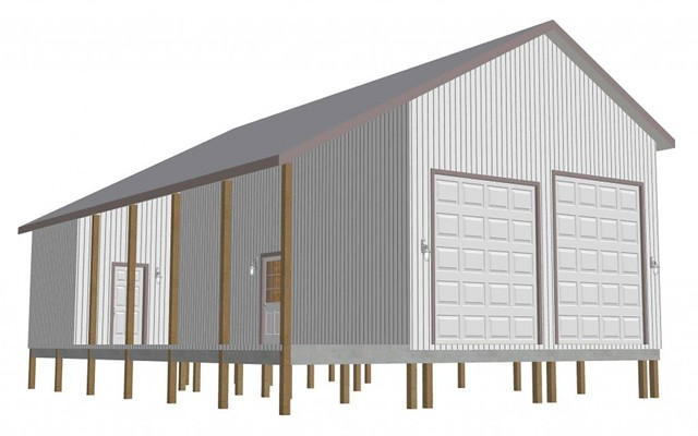 Garage Pole Barn Plans - Home