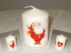 "Candle ""Santa"""