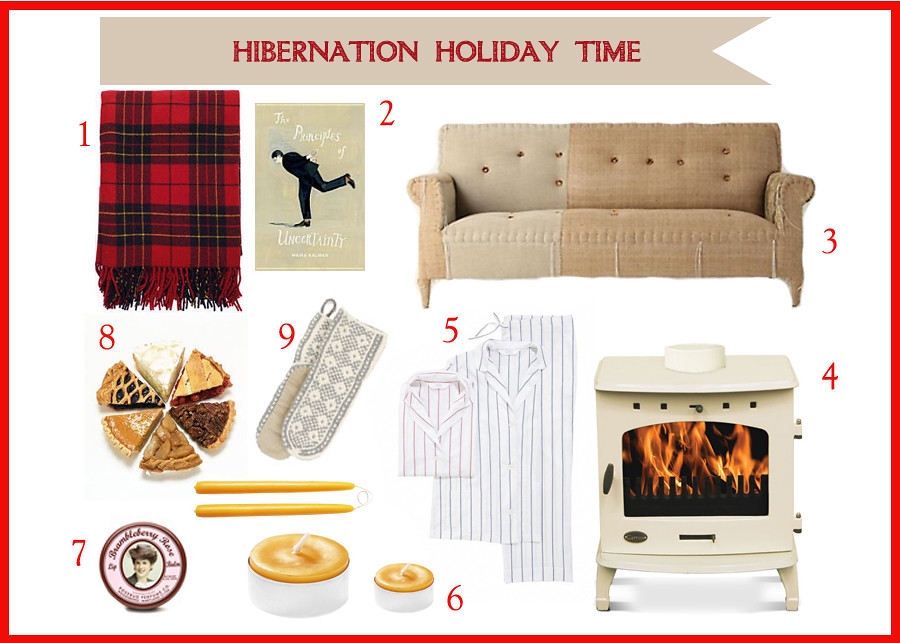 hibernation holidays