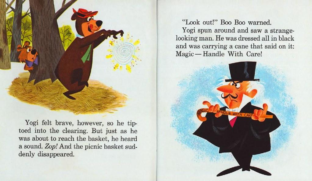 Yogi Bear & the Cranky Magician004