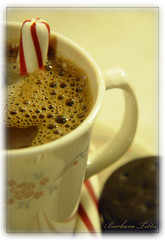 Warming Cup of Comfort (Explored) (misst.shs) Tags: cup nikon cookie chocolate hotchocolate explore cocoa comfort candycane peppermint hss d90 explored macromondays