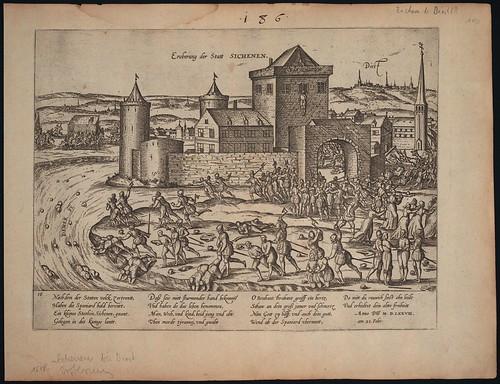 Eroberung von Sichenen (Sichem) bei Diest (c. 1578)