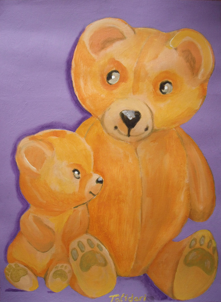 Talidari painting - bears