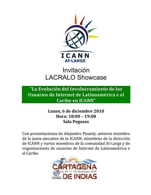 LACRALO Showcase Invitation