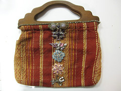 Rhinestone Steampunk Purse! 3