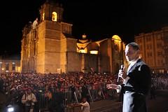 Gabino Cué, Concierto Musical-Alameda de León, Oaxaca