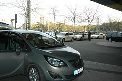 Meriva im Taxi-Test