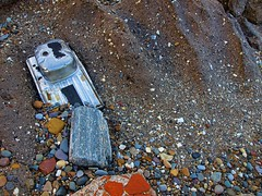 Everything but... - Hornsea : PB124140 (pete riches) Tags: sea beach coast resort erosion northsea coastline tides groynes eastyorkshire hornsea breakwaters holderness seadefences longshoredrift eastriding coastalerosion boulderclay glacialtill peteriches jupiter1uk crapfromthegutter