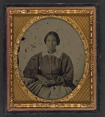 [Unidentified African American woman] (LOC) (The Library of Congress) Tags: woman unitedstates civilwar american africanamerican ambrotype libraryofcongress africanamericanwoman americancivilwar uscivilwar xmlns:dc=httppurlorgdcelements11 dc:identifier=httphdllocgovlocpnpppmsca26991