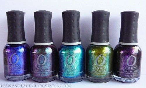 Orly Cosmic FX collection #2